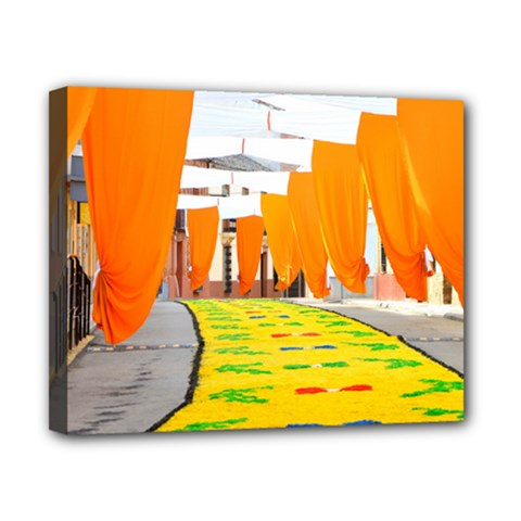Corpus Torrenueva Procession Canvas 10  x 8