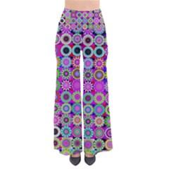 Design Circles Circular Background Pants