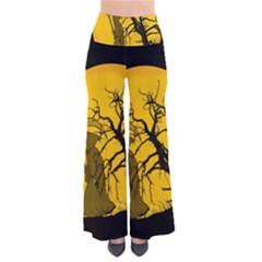 Death Haloween Background Card Pants
