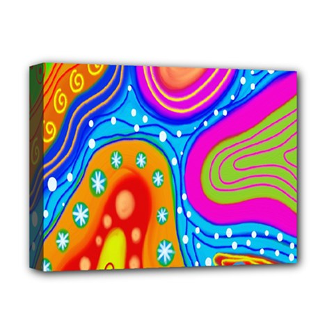Doodle Pattern Deluxe Canvas 16  x 12