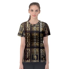 Detail Golden Gold Ornaments Women s Sport Mesh Tee