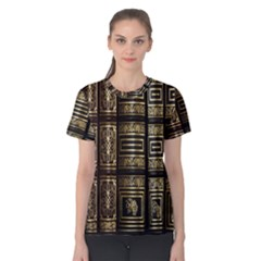 Detail Golden Gold Ornaments Women s Cotton Tee