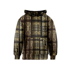 Detail Golden Gold Ornaments Kids  Pullover Hoodie