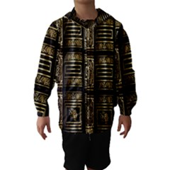 Detail Golden Gold Ornaments Hooded Wind Breaker (Kids)