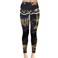 Christmas Advent Candle Arches Leggings