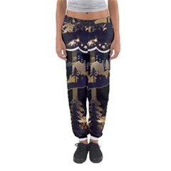 Christmas Advent Candle Arches Women s Jogger Sweatpants