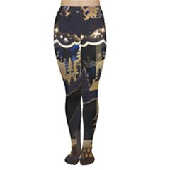 Christmas Advent Candle Arches Women s Tights