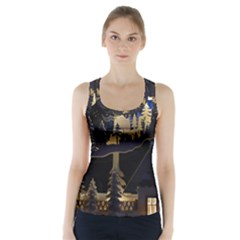 Christmas Advent Candle Arches Racer Back Sports Top
