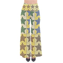 Pattern With A Stars Pants