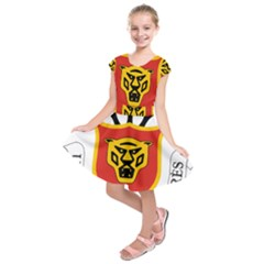 Burundi Coat of Arms  Kids  Short Sleeve Dress