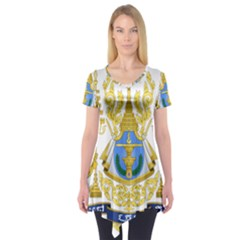 Royal Arms of Cambodia Short Sleeve Tunic