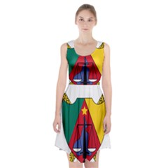Coat of Arms of Cameroon  Racerback Midi Dress