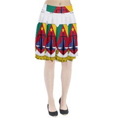 Coat of Arms of Cameroon  Pleated Skirt