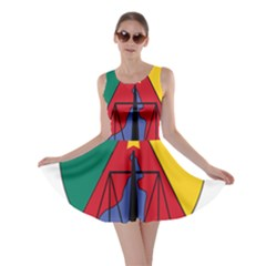 Coat Of Arms Of Cameroon Skater Dress