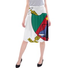 Coat of Arms of Cameroon Midi Beach Skirt