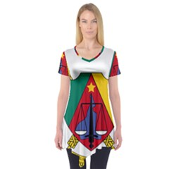 Coat of Arms of Cameroon Short Sleeve Tunic