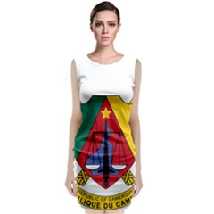 Coat of Arms of Cameroon Classic Sleeveless Midi Dress