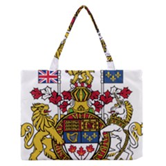 Coat of Arms of Canada  Medium Zipper Tote Bag