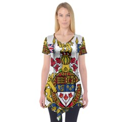 Canada Coat of Arms  Short Sleeve Tunic