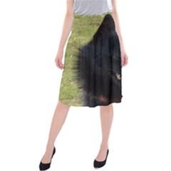 Schipperke Midi Beach Skirt