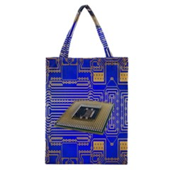 Processor Cpu Board Circuits Classic Tote Bag