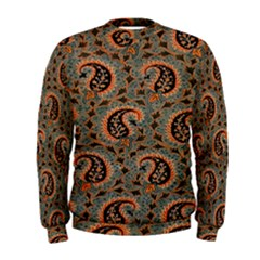 Persian Silk Brocade Men s Sweatshirt