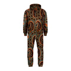 Persian Silk Brocade Hooded Jumpsuit (kids)