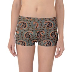 Persian Silk Brocade Boyleg Bikini Bottoms