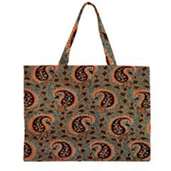 Persian Silk Brocade Large Tote Bag