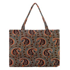 Persian Silk Brocade Medium Tote Bag