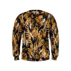 Honey Bee Water Buckfast Kids  Sweatshirt