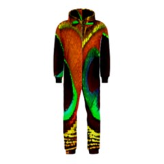Peacock Feather Eye Hooded Jumpsuit (Kids)