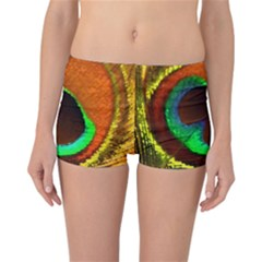 Peacock Feather Eye Reversible Bikini Bottoms