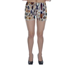 Insect Collection Skinny Shorts