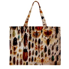 Insect Collection Zipper Mini Tote Bag