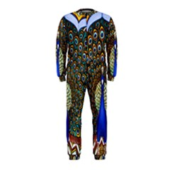 The Peacock Pattern OnePiece Jumpsuit (Kids)