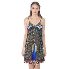 The Peacock Pattern Camis Nightgown