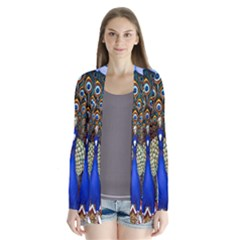 The Peacock Pattern Cardigans