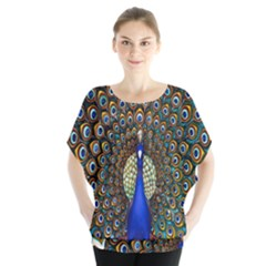 The Peacock Pattern Blouse