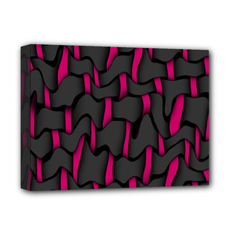 Weave And Knit Pattern Seamless Background Deluxe Canvas 16  x 12