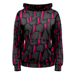Weave And Knit Pattern Seamless Background Women s Pullover Hoodie