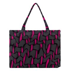Weave And Knit Pattern Seamless Background Medium Tote Bag