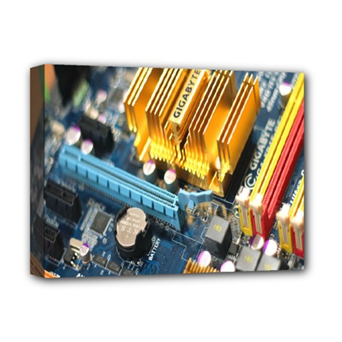 Technology Computer Chips Gigabyte Deluxe Canvas 16  x 12