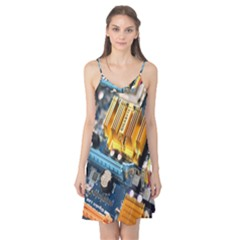 Technology Computer Chips Gigabyte Camis Nightgown