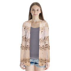 Music Notes Background Cardigans