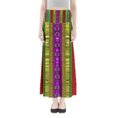 A Gift From The Rainbow In The Sky Maxi Skirts