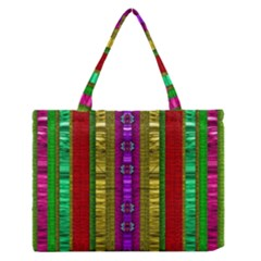 A Gift From The Rainbow In The Sky Medium Zipper Tote Bag