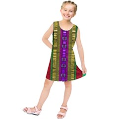 A Gift From The Rainbow In The Sky Kids  Tunic Dress