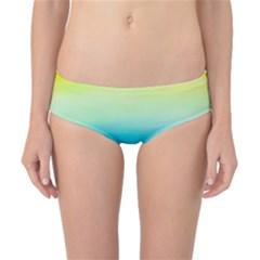 Watercolour Gradient Classic Bikini Bottoms