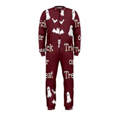 Halloween Free Card Trick Or Treat OnePiece Jumpsuit (Kids)